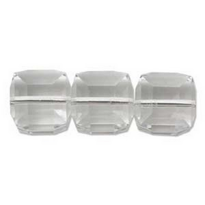(H560108CRYS) 8MM SQUARES CRYSTAL