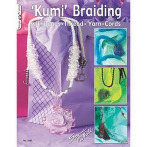 (HBK916) KUMI BRAIDING W BEADS