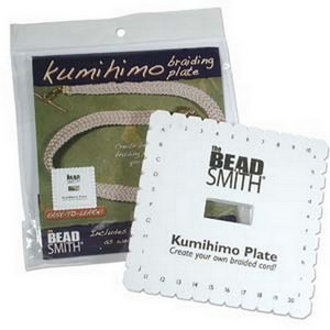 (HKD601) KUMIHIMO PLATE 6IN SQUARE