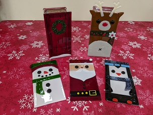 Fused Glass Holiday Block - All Ages