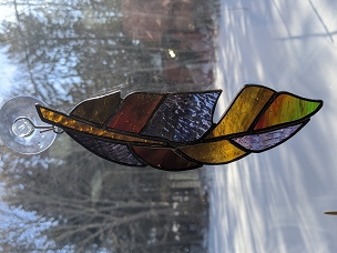 Stained Glass Feather Class