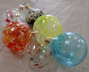 Deluxe Blown Glass Ornaments Team Event