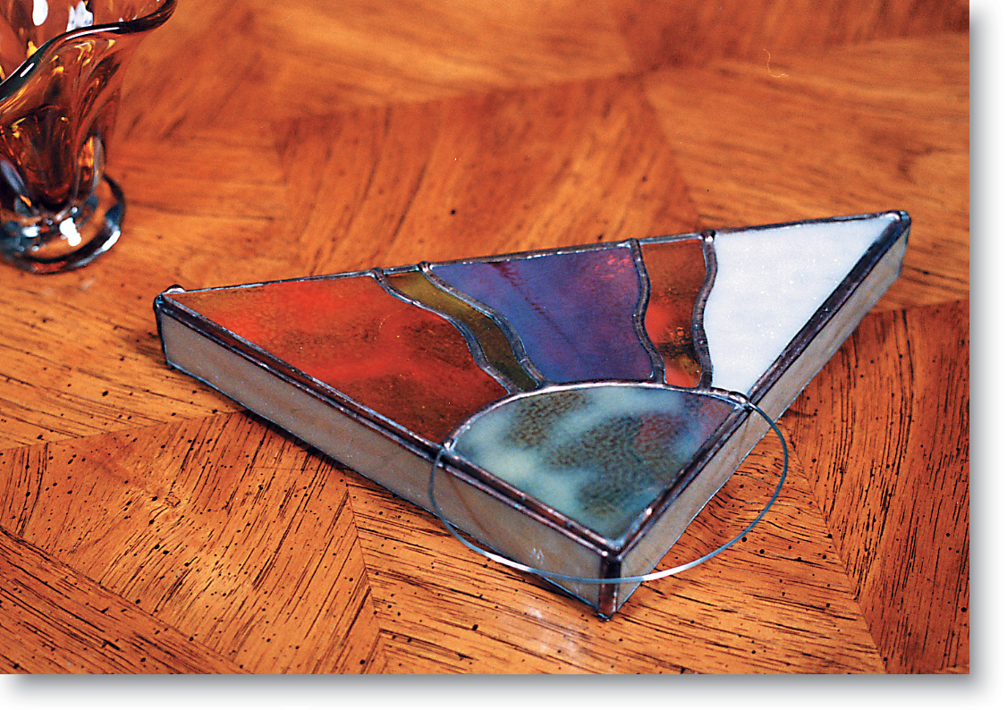 Free Stained Glass Pattern 3041- Contemporary Box