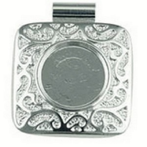 (484725) FANCY SILVER SQUARE PENDANT