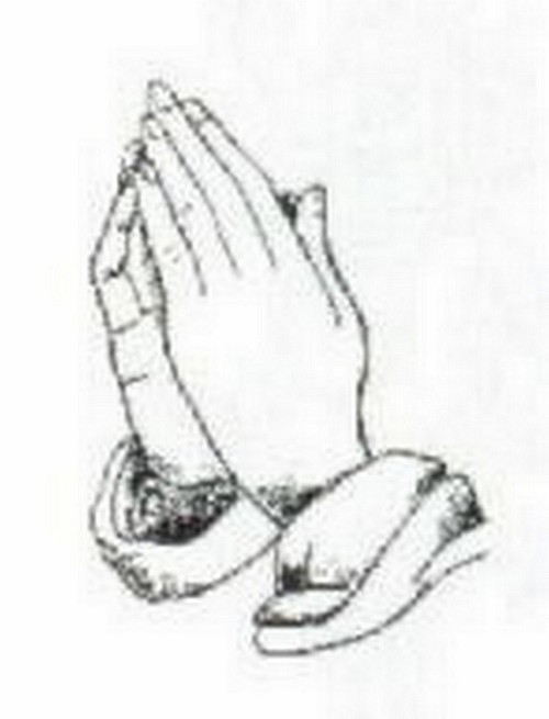 (1173210) 4x6 OVAL-PRAYING HANDS
