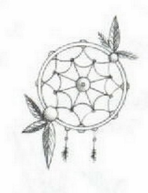 (1173749) 4x6 OVAL-DREAM CATCHER