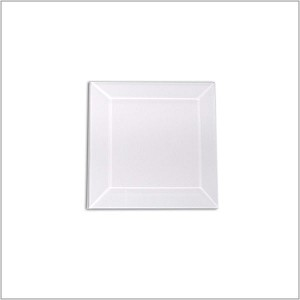 (1250) CLEAR BEVEL 3 x 3 SQ