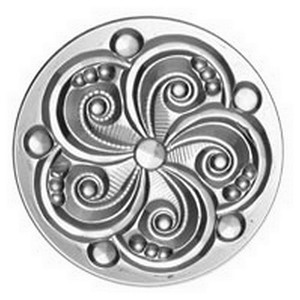 (3456) JEWEL-35mm SWIRL-CRYSTAL