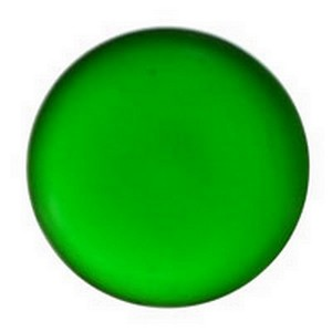(3483) JEWEL-25mm ROUND-GREEN