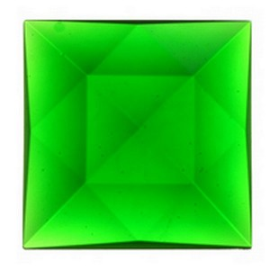 (3503) JEWEL-50mm SQUARE-GREEN