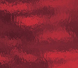 "OCEANSIDE RUBY RED ROUGH ROLLED FUSIBLE (Large 12"" x 16"")"